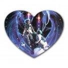 Gemini Heart-shaped Mouse Pad