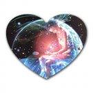 Scorpio Heart-shaped Mouse Pad