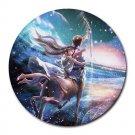 Sagittarius Round Mouse Pad