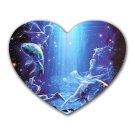 Pisces Heart-shaped Mouse Pad