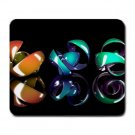 Glass Curls Large Mouse Pad
