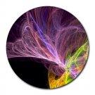 Colourful Nebula Round Mouse Pad