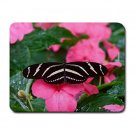 Black & White Butterfly 1 Small Mouse Pad