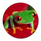 Tree Frog Round Mouse Pad