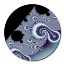Fractal Pattern 2 Round Mouse Pad