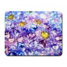 """""""Sparkly Hearts"""" Small Mouse Pad"""