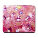 """Crystal Pink Love"" Large Mouse Pad"