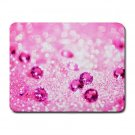"""Pink Glitter"" Small Mouse Pad"