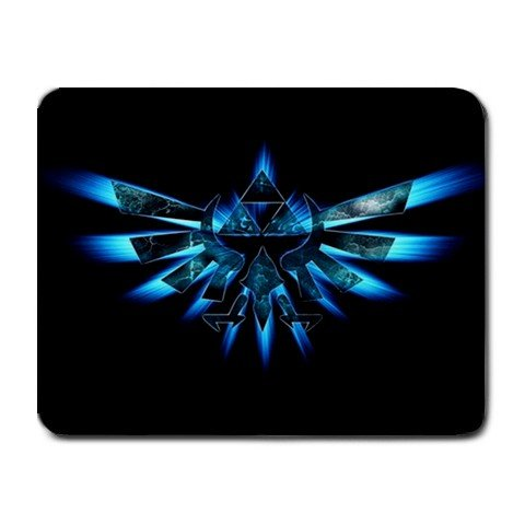 Zelda - Triforce Small Mouse Pad