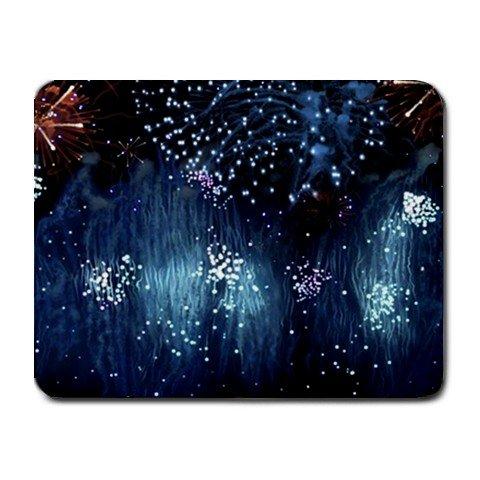 """Blue Rain"" Small Mouse Pad"