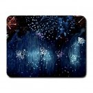 """Blue Rain"" Small Mouse Pad"