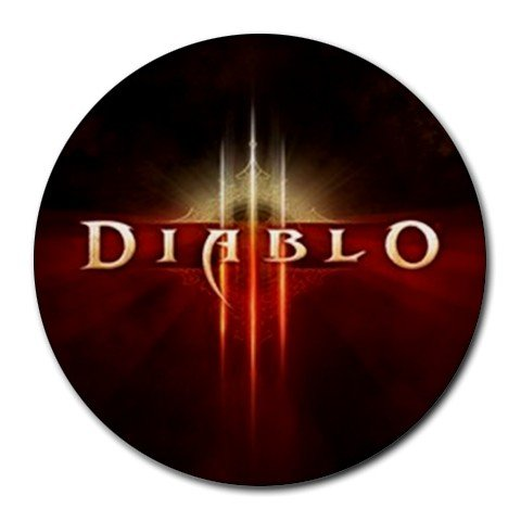 Diablo 3 Round Mouse Pad