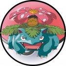 Pokemon 003 Venusaur Round Mouse Pad