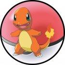 Pokemon 004 Charmander Round Mouse Pad