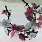 Victorian Style Flower Fringe Bracelet  Hand Crafted