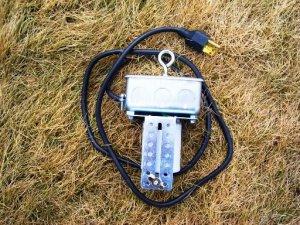 SOCKET HANGER/CORD/BRACKET KIT USE REFLECTOR/REFRACTOR