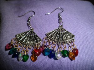 Fan of Hearts Earrings