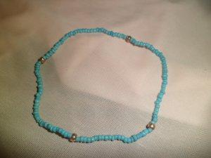 Lite Blue & Gold Bracelet