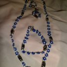 Blue Daisey Chain Set
