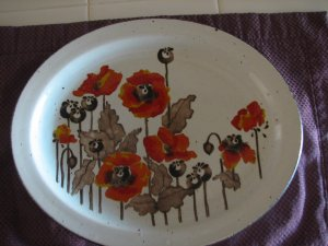 Vintage Midwinter Platter by Stonehenge