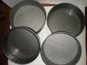 Spring Form Baking Pans
