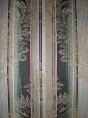 Drapes Curtains Tan Green Burgandy