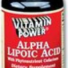 Alpha Lipoic Acid 50 mg plus - Valuable Phyto-Nutrient Cofactors Cellular Bio-Protectant.