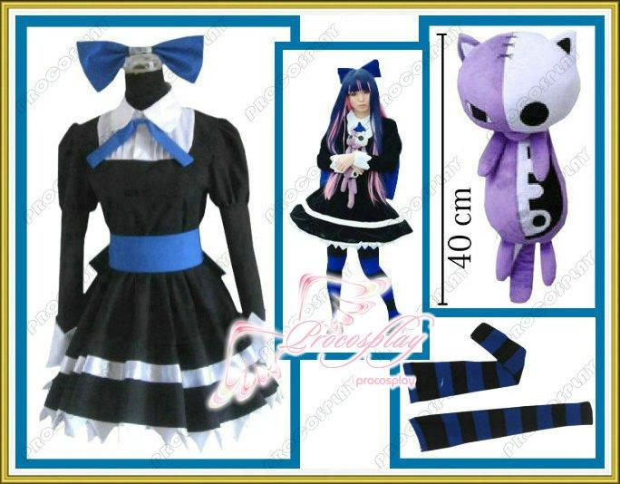 Panty & Stocking with Garterbelt black Cosplay costume