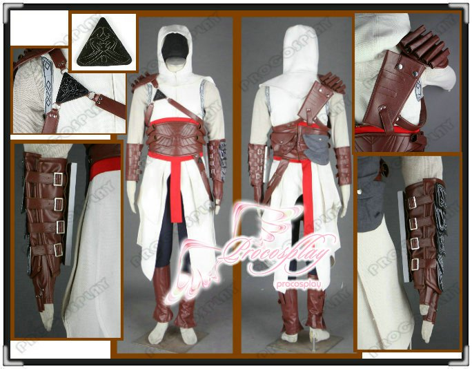 Assassin's Creed Altair Cosplay Costume Any Szie