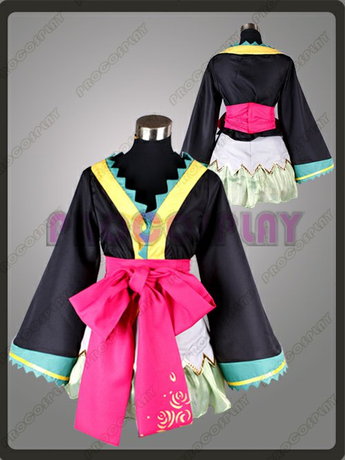 Best Vocaloid Project Diva Miku Cosplay Costume
