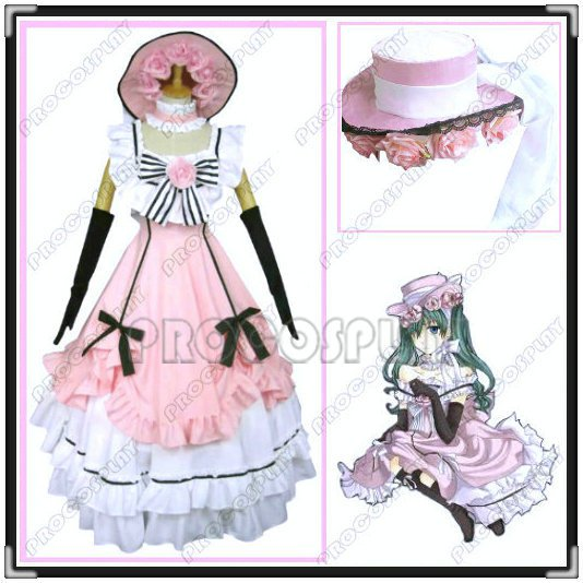 Black Butler-Kuroshitsuji Ciel Cosplay Costume Dress 02