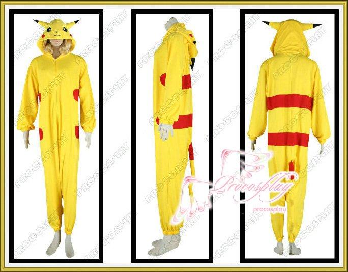 Pokemon Pikachu Cosplay Costume Any Size