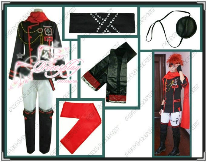 New D.Gray-man Lenalee Lavi Cosplay Costume Any Size