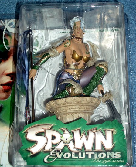 McFarlane Spawn 29 ZERA Figure Sexy Nude Chest VARIANT