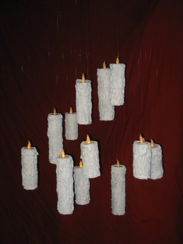 3 Floating Candle Illusion Great Hall Harry Potter Prop Replica Magic Christmas