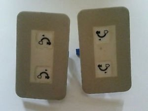 Two Philips BV 300 C-Arm X-ray Switches NFI Electronics Touch Panel E1552-05-02