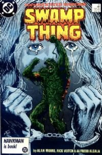 Swamp Thing # 51 NM ALAN Moore