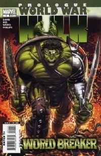 World War hulk Prologue: world breaker NM+