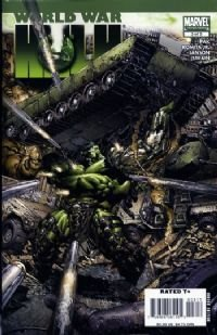 world War Hulk 3 of 5 mint