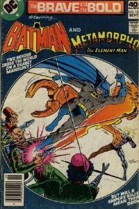 the Brave and the Bold  # 154 (Batman and Metamorpho) 1979 NM