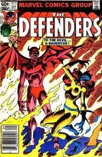 the Defenders #111 1982