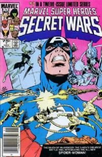 Marvel Super Heroes: Secret Wars # 7 NM  1984
