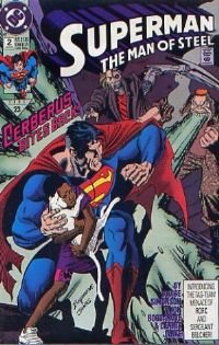 Superman: The MAn of Steel # 2 NM Free shipping!