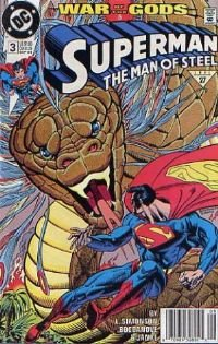 Superman:The Man of Steel # 3 NM Free Shipping!