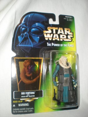 1997 Bib Fortuna POWER of the Force Action Figure New In package!