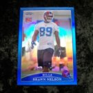 09' SHAWN NELSON Buffalo Bills Topps Chrome Refractor Rookie #TC182