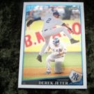 2009 DEREK JETER Yankees Topps Chrome Baseball Card #98