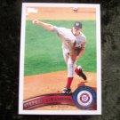 STEPHEN STRASBURG Nationals 2011 Topps Baseball Card #10