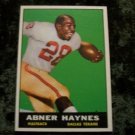 ABNER HAYNES 1960 Topps Football Card # 133