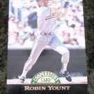 1993 Robin Yount Pinnacle Cooperstown Card #3
